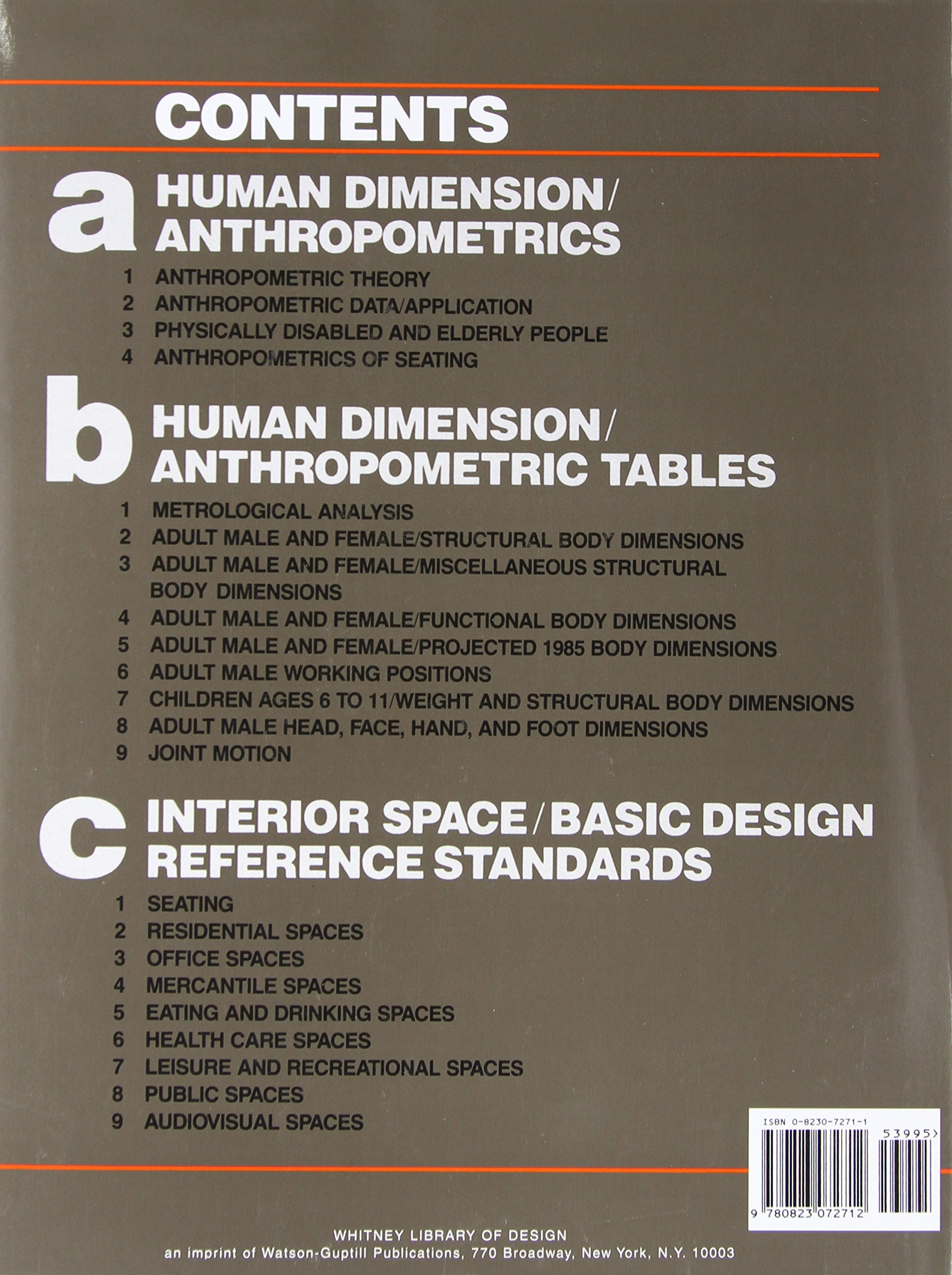 Human Dimension Interior Space A Source Book Of Design Reference Standards Julius Panero Martin Zelnik 9780823072712 Amazon Books