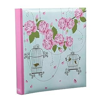 Arpan - Álbum de fotos de 13 x 18 cm, diseño de jaula de pájaros con rosas, para 200 fotografías diseño de jaula de pájaros con rosas para 200 fotografías BL57