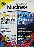 Mucinex Children's Multi-Symptom Day/Night Liquid, Berry, 8oz (2x4oz)
