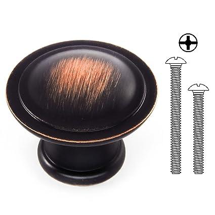 Ordinaire Kitchen Cabinet Knobs U2013 Cabinets Door Handle Hardware   Round Oil Rubbed  Bronze Drawer Knob With