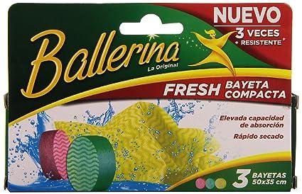 Ballerina Bayetas Fresh Vim - 3 Unidades