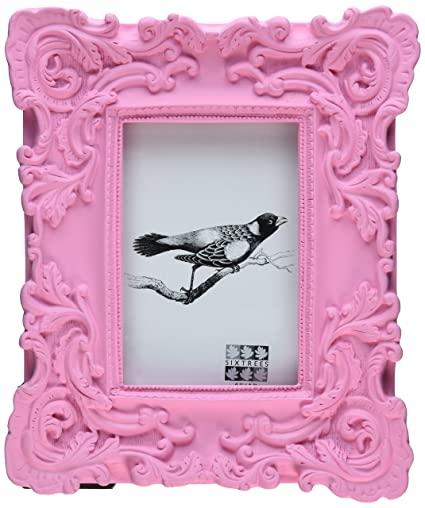 Amazon Sixtrees Baroque Frame 4 By 6 Inch Pink Luxury Frames