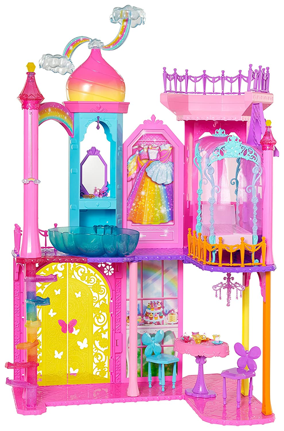 Barbie Rainbow Cove Princess C...