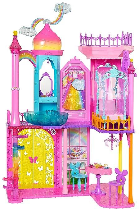 Y De MágicomxJuegos Reino Castillo Arcoíris Barbie QxhrtsdC