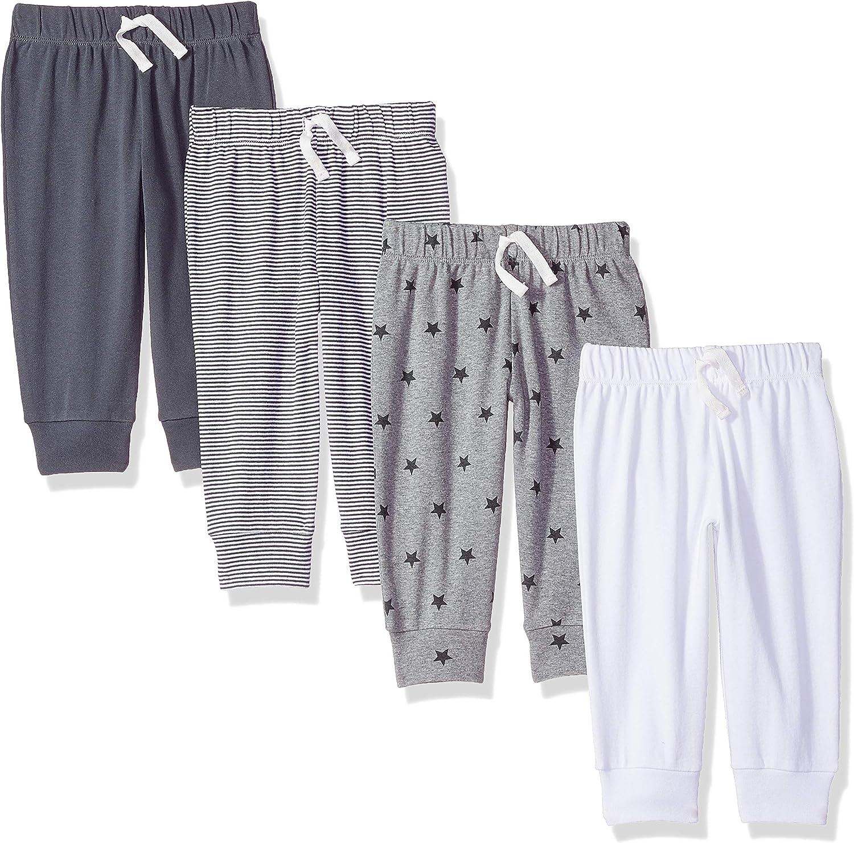 Amazon Essentials Baby Boys Cotton Pull-On Pants