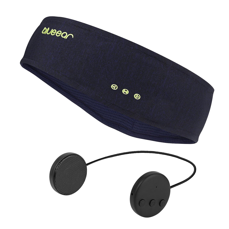 Bluetooth Musik Sport Stirnband Headband mit drahtlosem Kopfhörer 8 Stunden Musikspieler mit einer Call-Funktion Geeignet für Outdoor-Sportarten Meidisheng