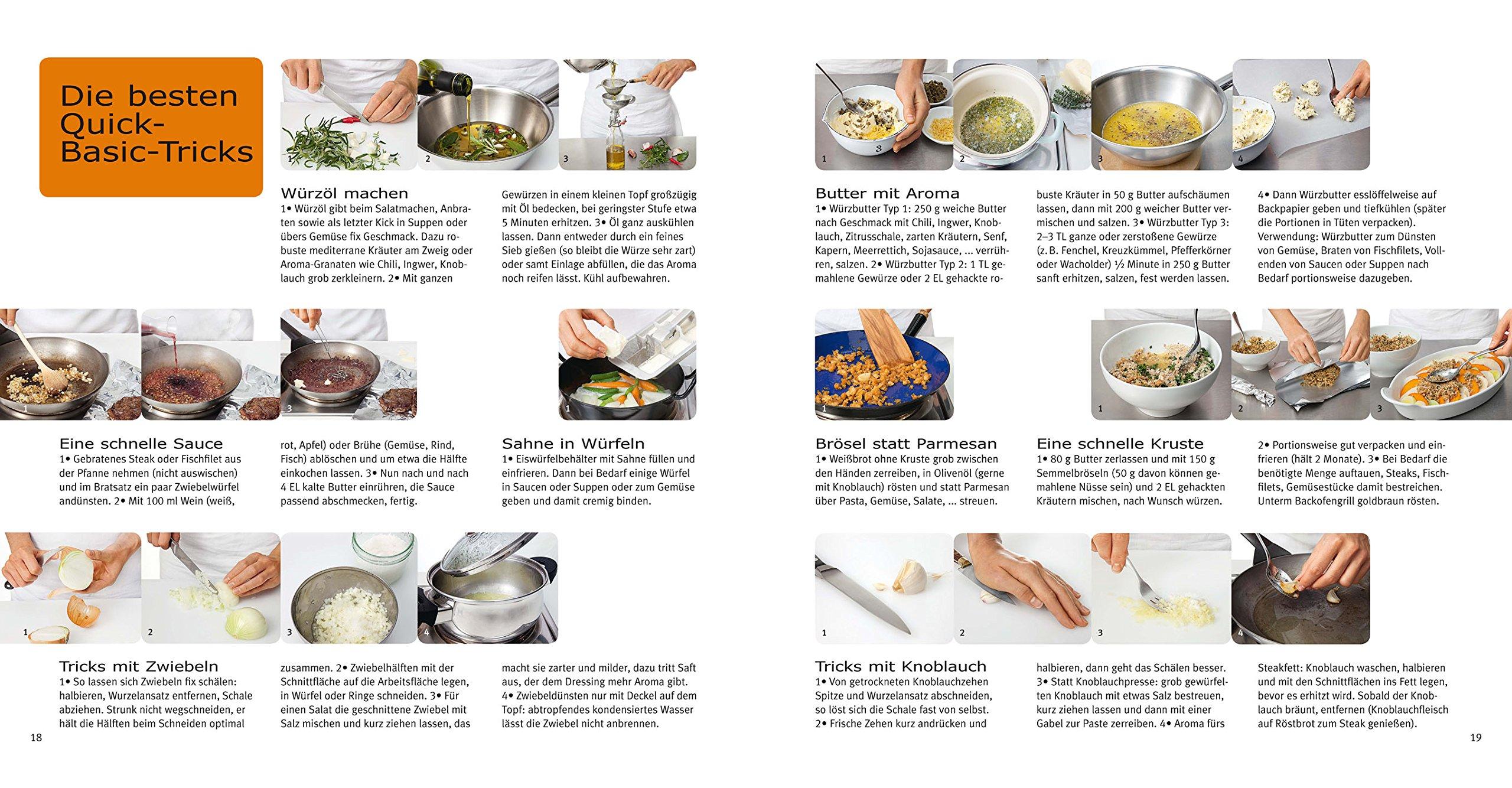quick basics: alles, was man braucht, um ganz schnell etwas gutes ... - Schnelle Küche Für Zwei
