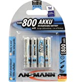 BATTERY, AAA 800MAH PRECHARGED 4PK 5035042/01 By ANSMANN