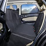 JabsPaws SALE! Dog Car Seat Cover - Hammock Style - Protects From Pet Fur, Dirt and Scratches - Fits Most Vehicles Including Cars, Vans, Trucks & SUVs - By
