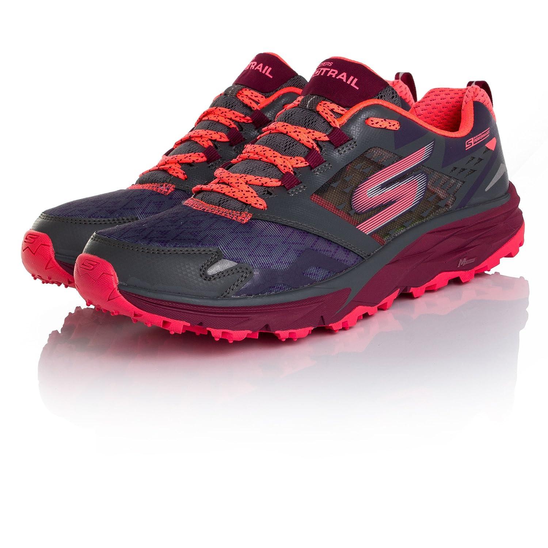 Skechers Women's Go Trail B019J7YT4C 6.5 B(M) US|Charcoal/Multi