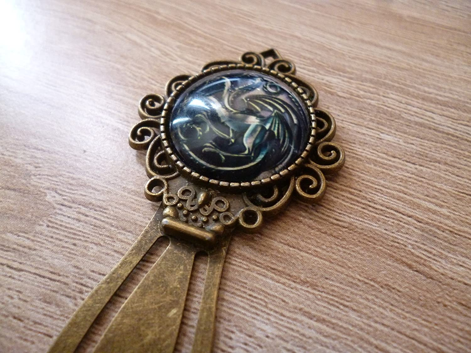 Bookmark - Targaryen - Game of Thrones - cabochon