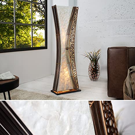 Invicta Interior - Lámpara de pie de diseño Lamu 100 cm ...