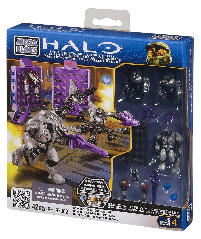 Mega Bloks Halo Covenant Silver Combat Unit