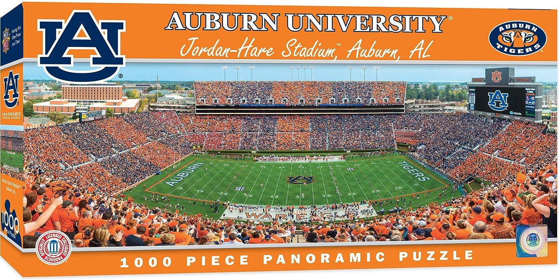 52df892a0288fa Amazon.com  MasterPieces Collegiate Auburn Tigers 1000 Piece Stadium  Panoramic Jigsaw Puzzle  Toys   Games