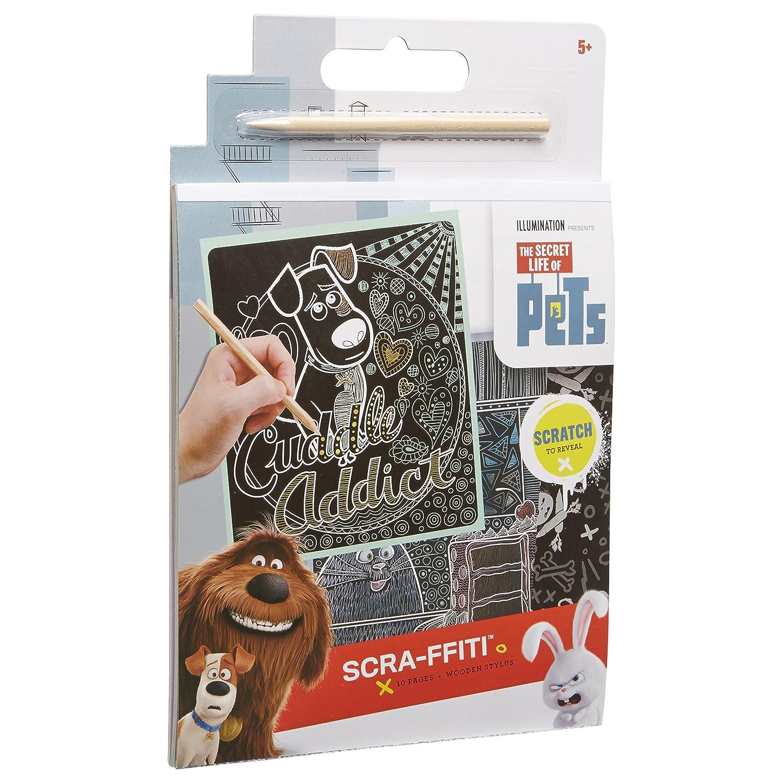 The Secret Life of Pets Scra-ffiti Pad Alex 531340-1