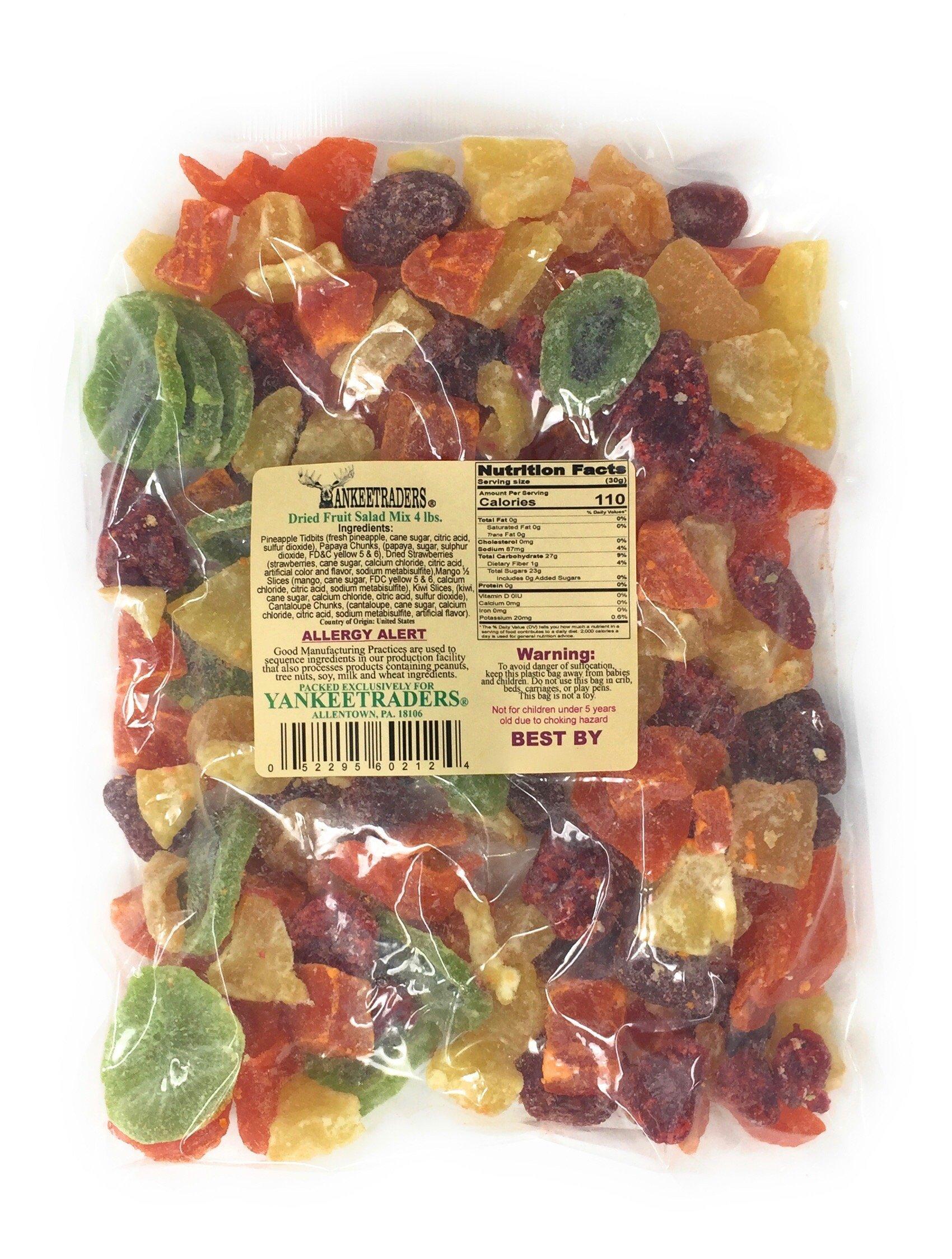 Yankee Traders Dried Fruit Mix Fruit Salad, 4 Pound