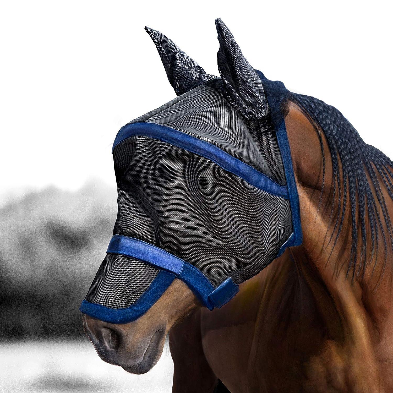 Full Size Harrison Howard Maskology Supreme horse fly mask