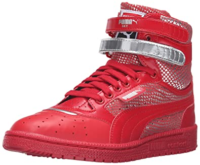 PUMA Women's Sky II Hi Futur Minimal Wn's Basketball Shoe, Barbados Cherry,  ...