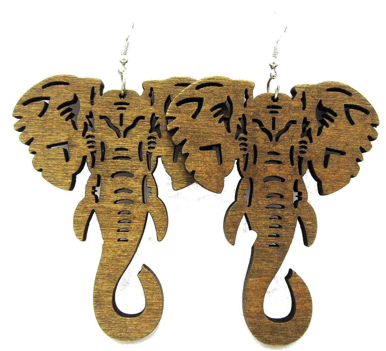 Amazon elephant earrings wooden elephant earrings wood amazon elephant earrings wooden elephant earrings wood elephant black jewelry biocorpaavc Image collections