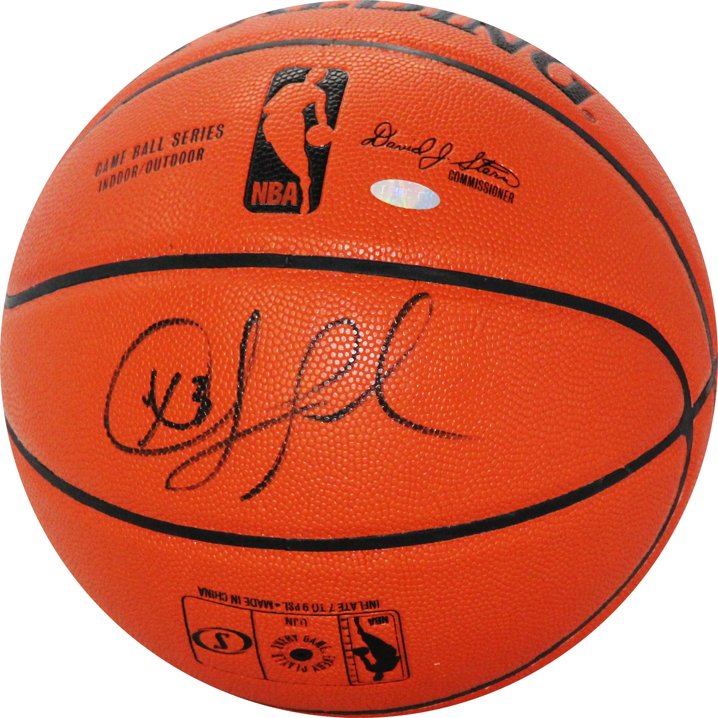 NBA Los Angeles Clippers Chris Paul Signed I/O Basketball