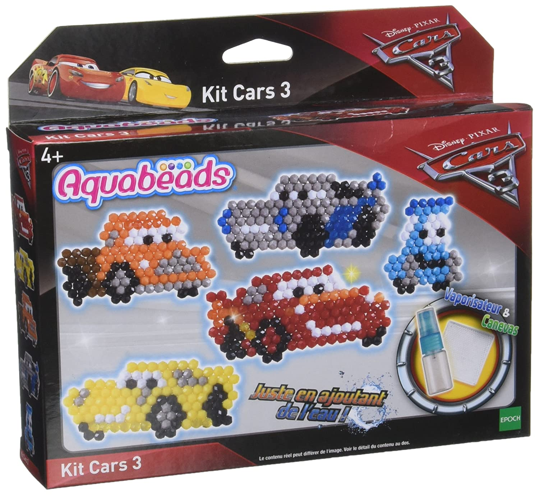 Aquabeads - 31079 - Kit de Loisirs créatifs - Cars 3 EPOCH