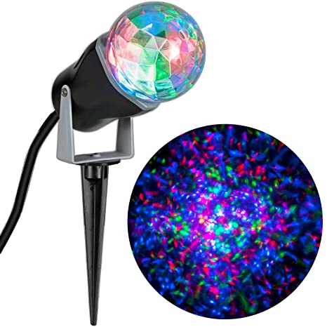 lightshow kaleidoscope multi colored christmas lights