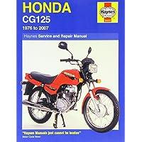 Honda CG125 Service and Repair Manual: 1976 to 2007 (Haynes Service and Repair Manuals)