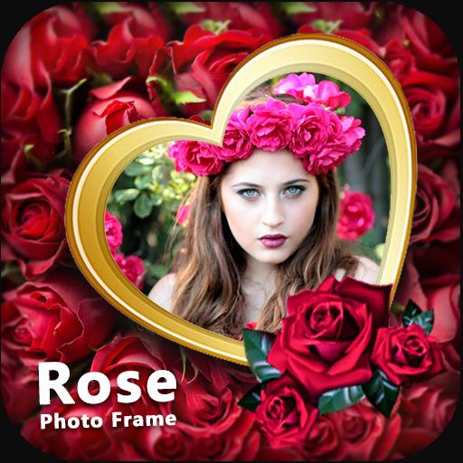 Free Frame - Rose Photo Frame