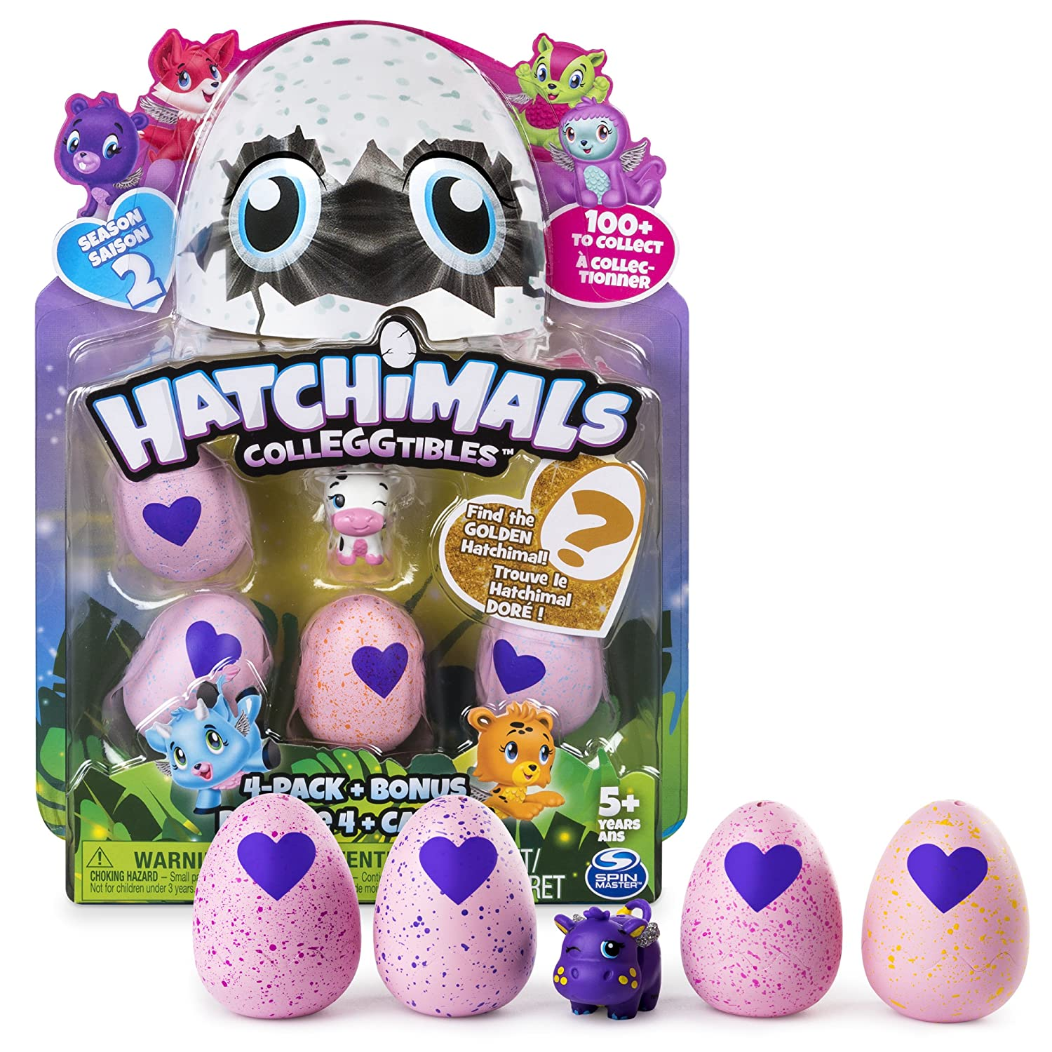 Hatchimals CollEGGtibles 5pack...