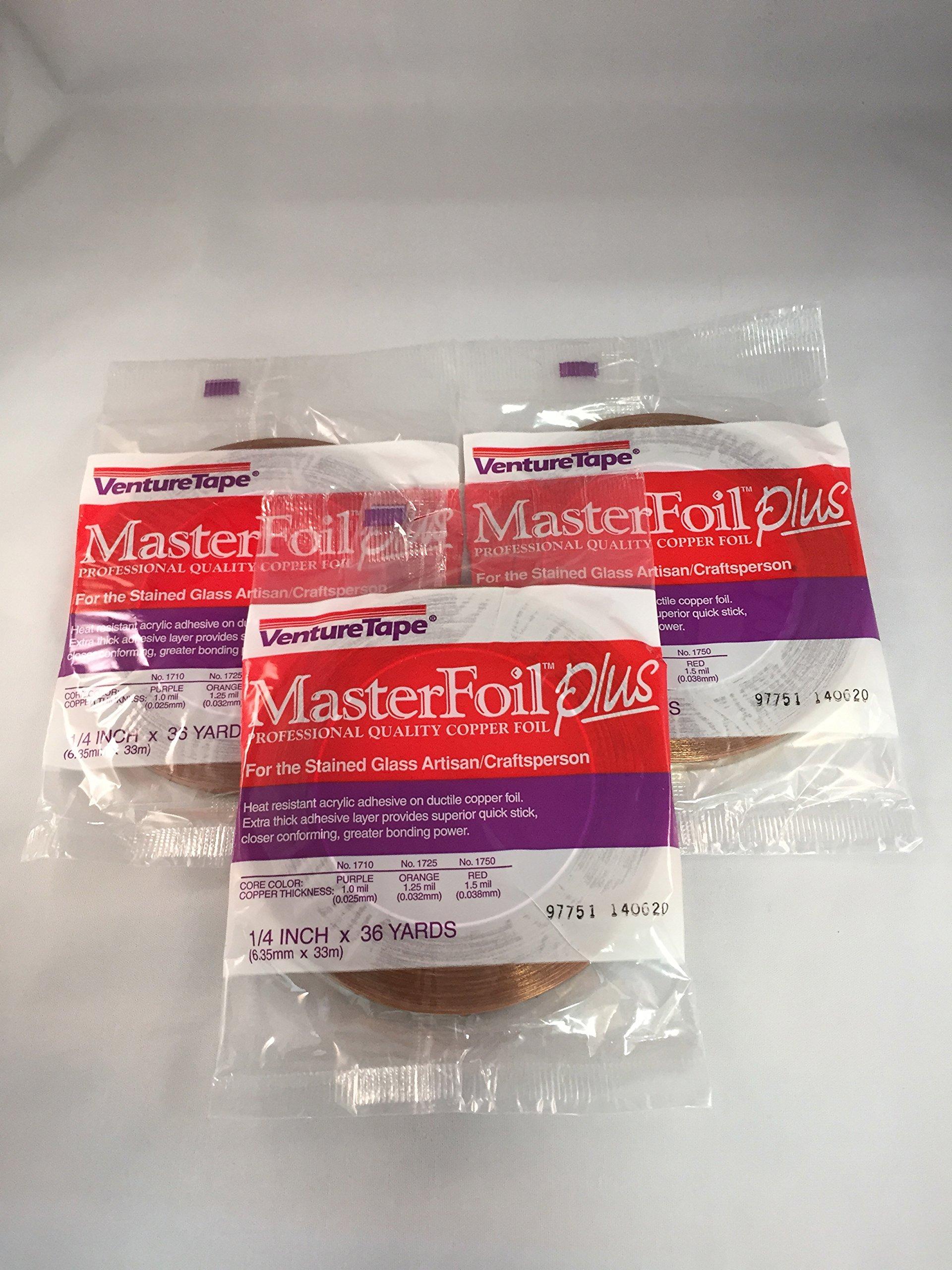 1/4'' Copper Foil 1.0 Mil - 3 rolls