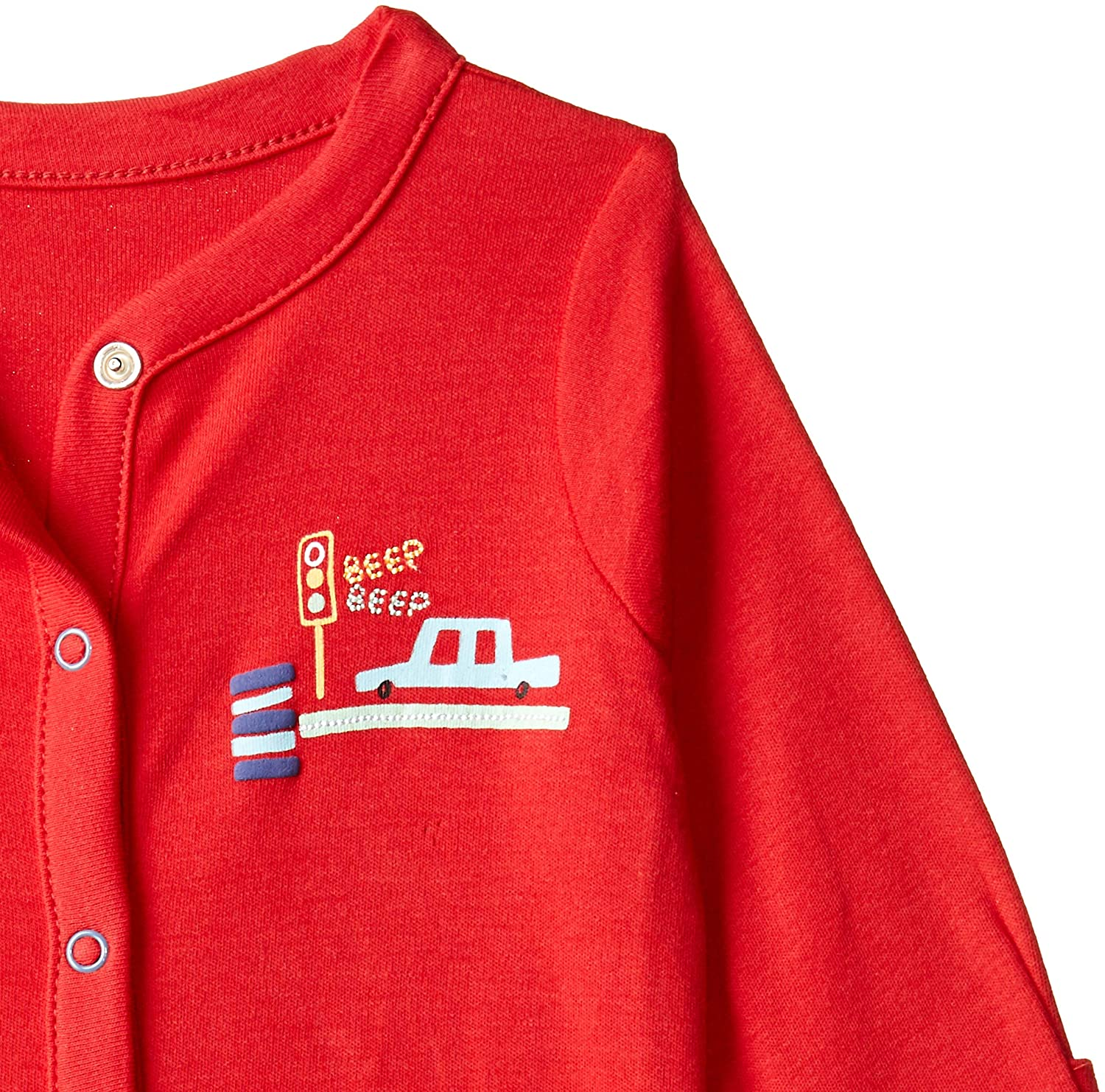Mothercare Baby Boys 3 Pack Beep Sleepsuit