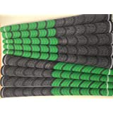 New Set of 9 green and Black Compound Golf Grips + Tape + instructions