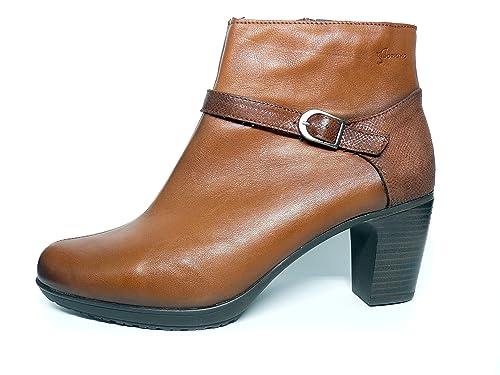 c2fe52a8 Botín cómodo Dorking-Fluchos - Piel disponible en colores Cuero y Negro -  6592 - 60: Amazon.es: Zapatos y complementos