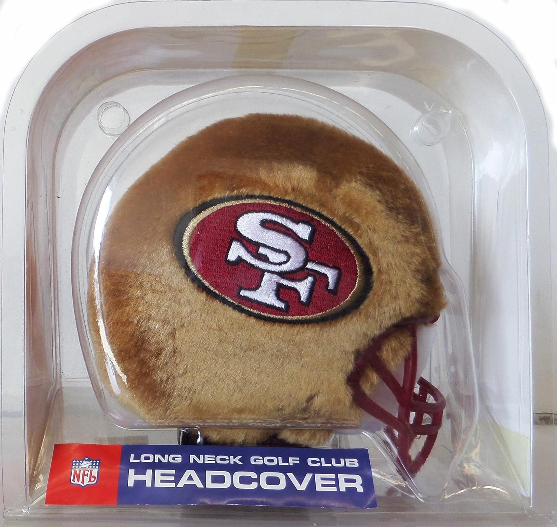 San Francisco 49ers NFLロングネックゴルフクラブヘッドカバー B077NHB5P6