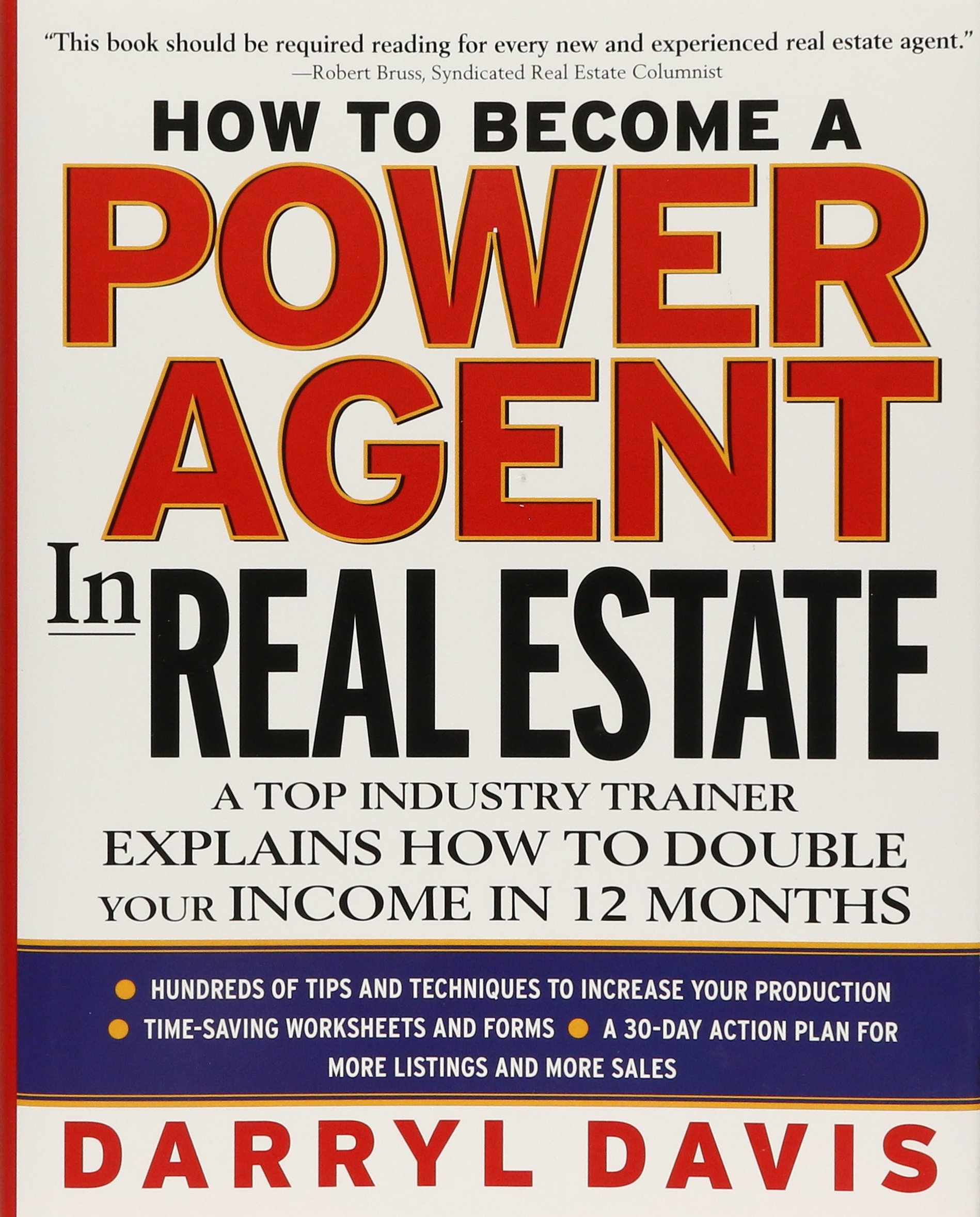 How To Become a Power Agent in Real Estate : A