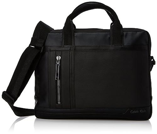 Calvin Klein Ethan Laptop Bag, Bolsa de Mano para Hombre ...