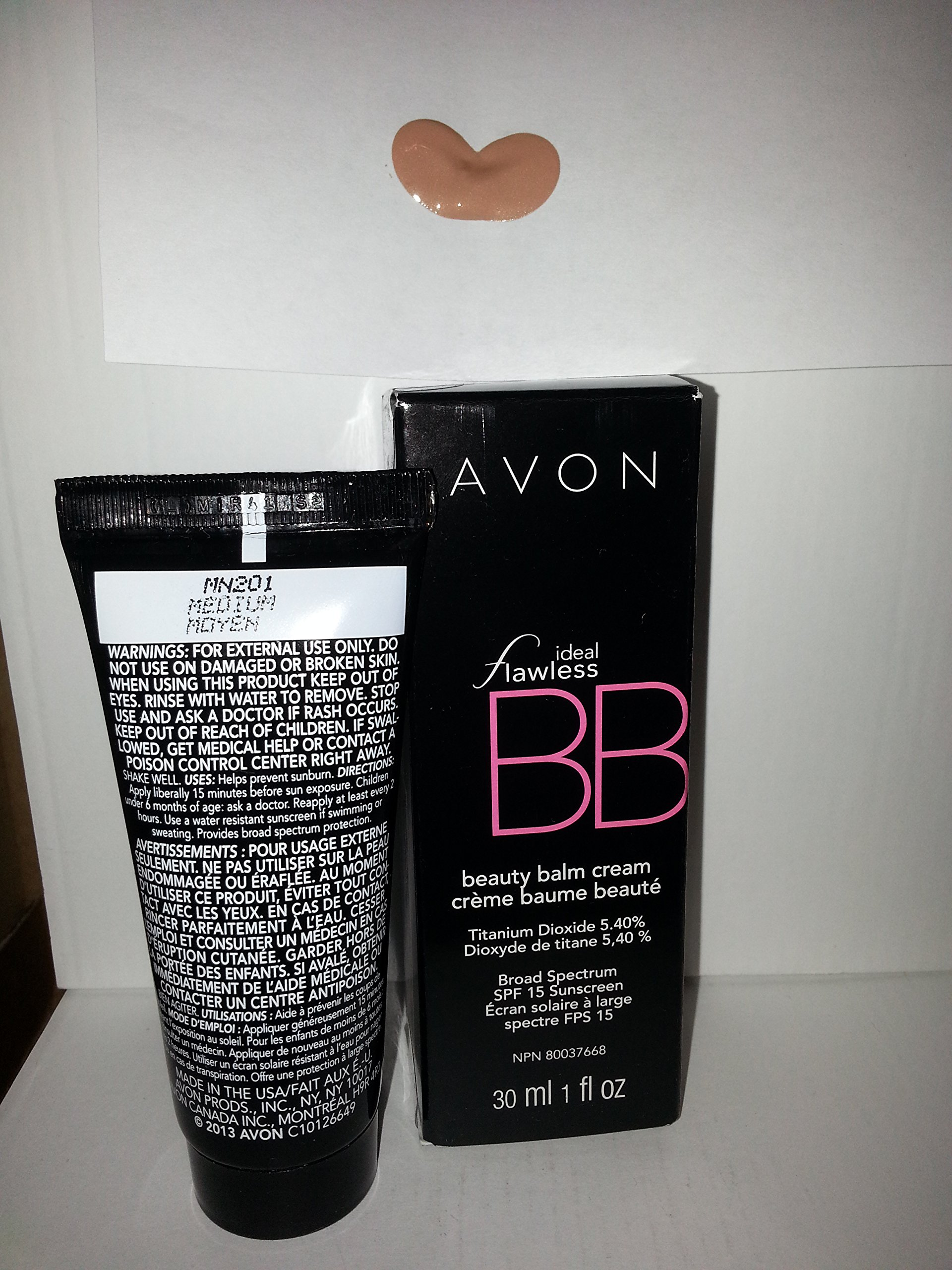 New Avon Ideal Flawless CC Color Corrector Cream SPF 50