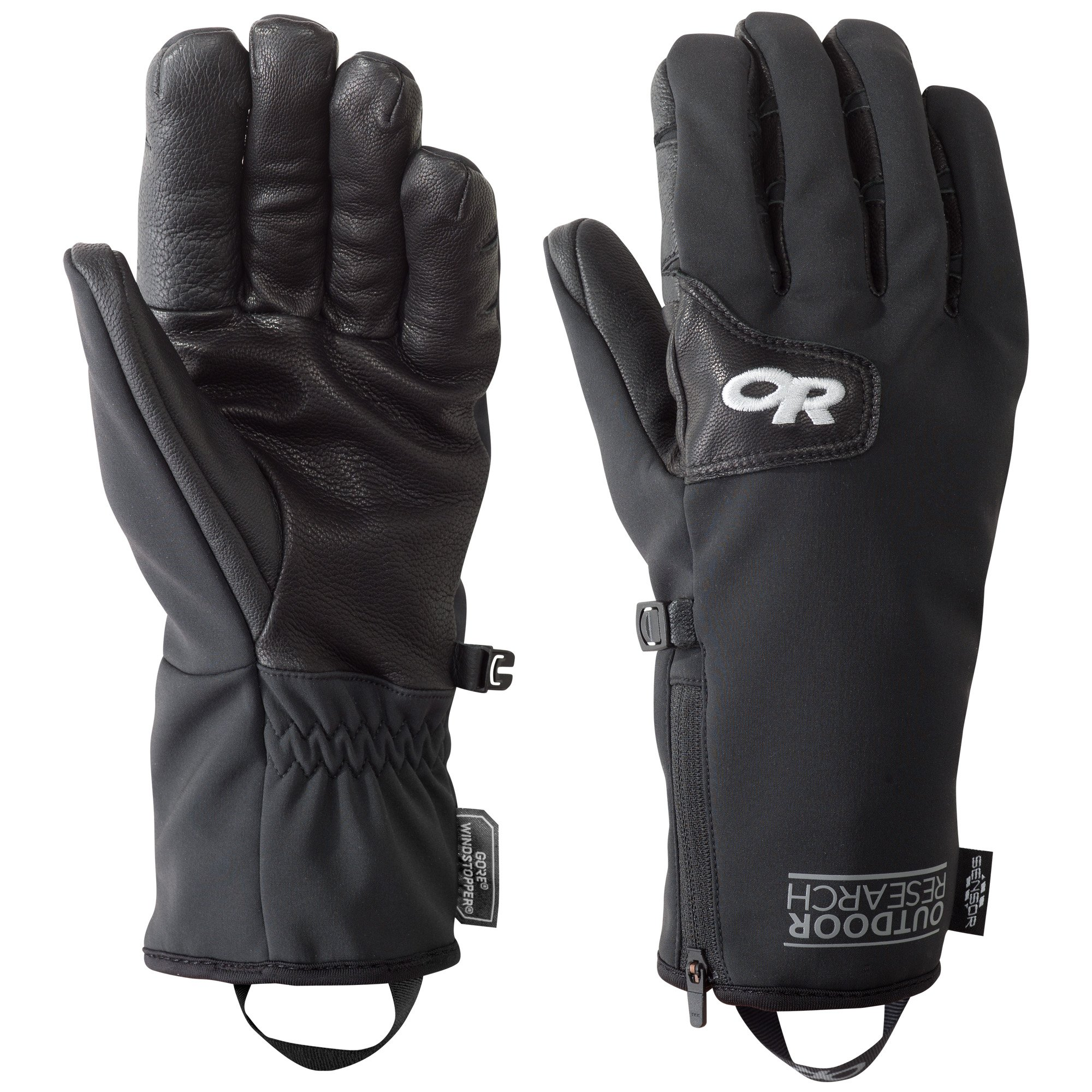 Outdoor Research Men's Stormtracker Sensor Gloves, Black, Large