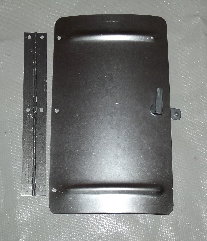 Amazon.com : Brinkmann Replacement Smoker Aluminum Door Assembly 450 7092 0  : Grill Parts : Garden U0026 Outdoor