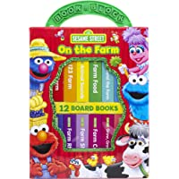Sesame Street - On The Farm My First Library Board Book Block Set - PI Kids