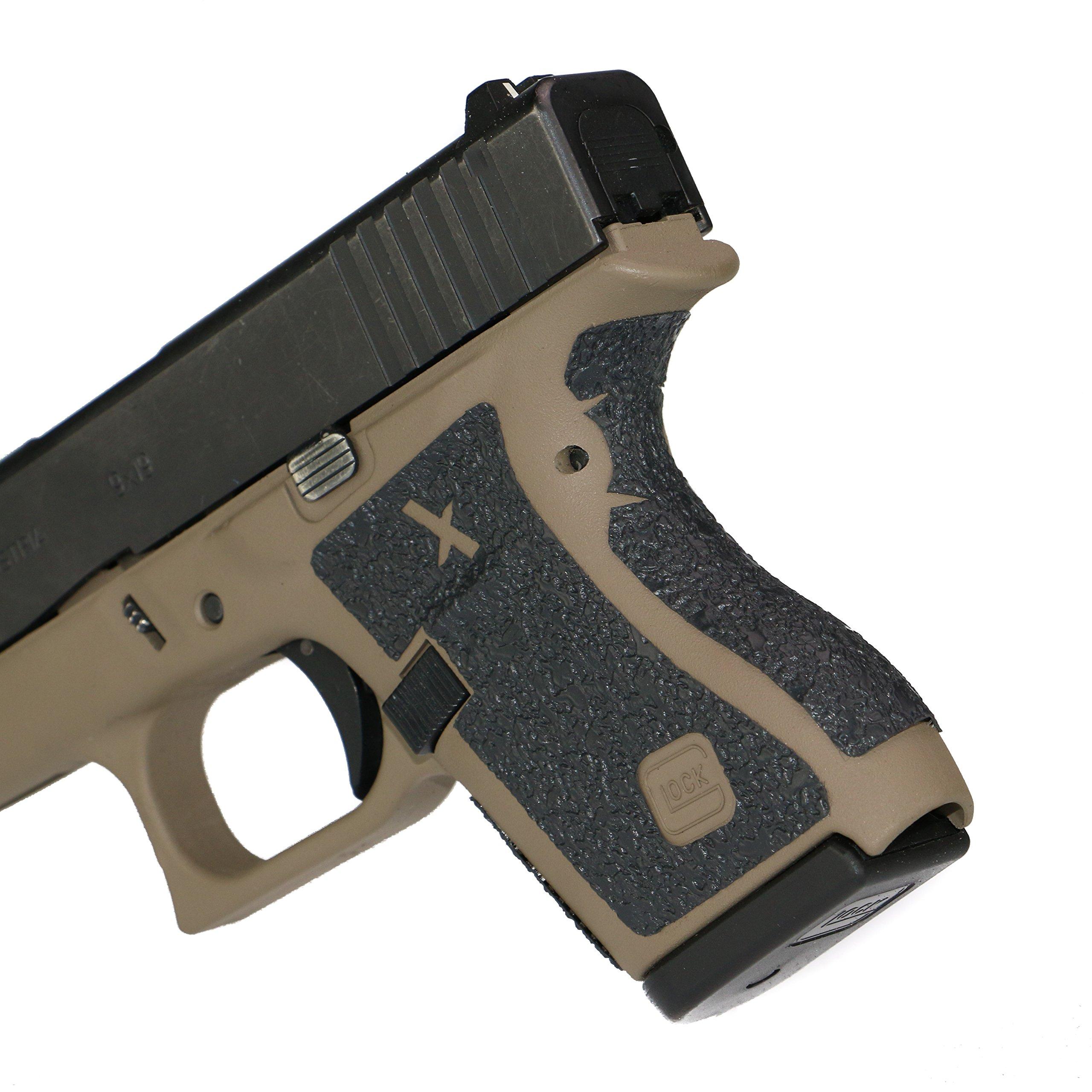 Foxx Grips -Gun Grips Glock 43 (Grip Enhancement)