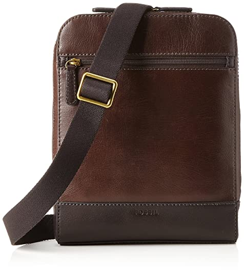 Fossil - Rory, Carteras Hombre, Braun (Brown), 5x28x21.5 cm