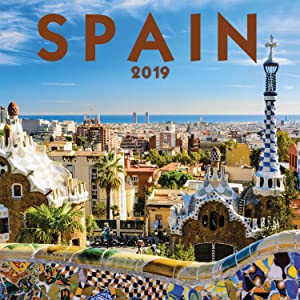 Turner Photo Spain 2019 Wall Calendar (199989400700 Office Wall Calendar (19998940070)