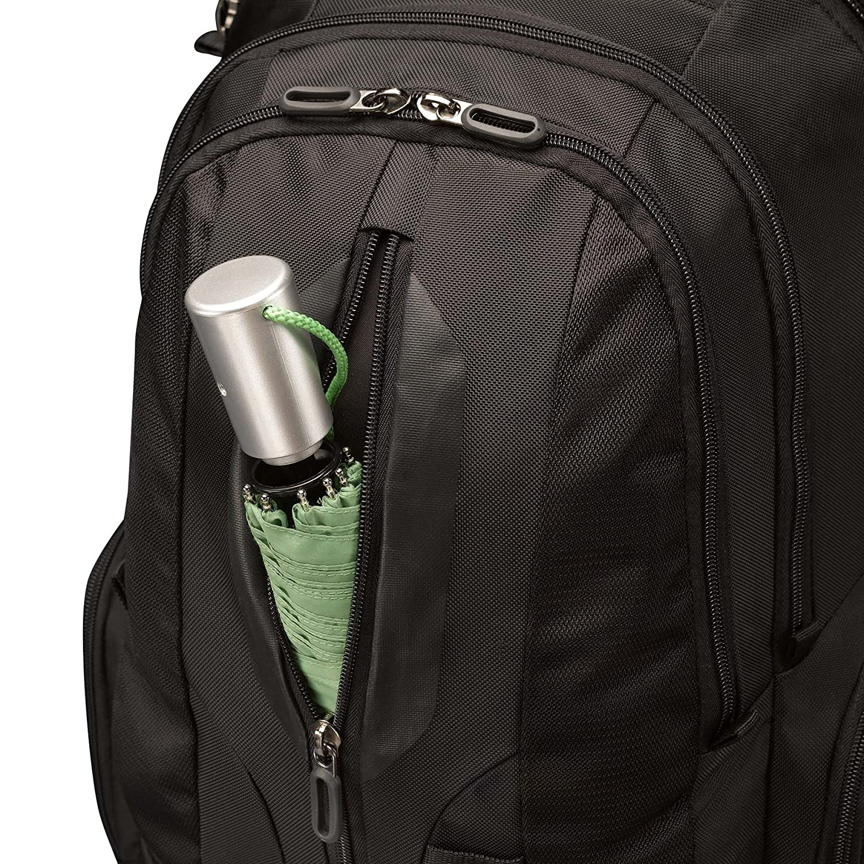 Case Logic RBP217 Sac /à dos en nylon pour Ordinateur portable//Tablette 17 10,2 Noir