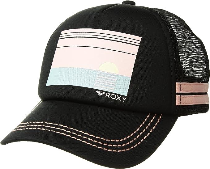 Roxy Para Mujer Gorra de béisbol - Negro - Talla única: Amazon.es ...