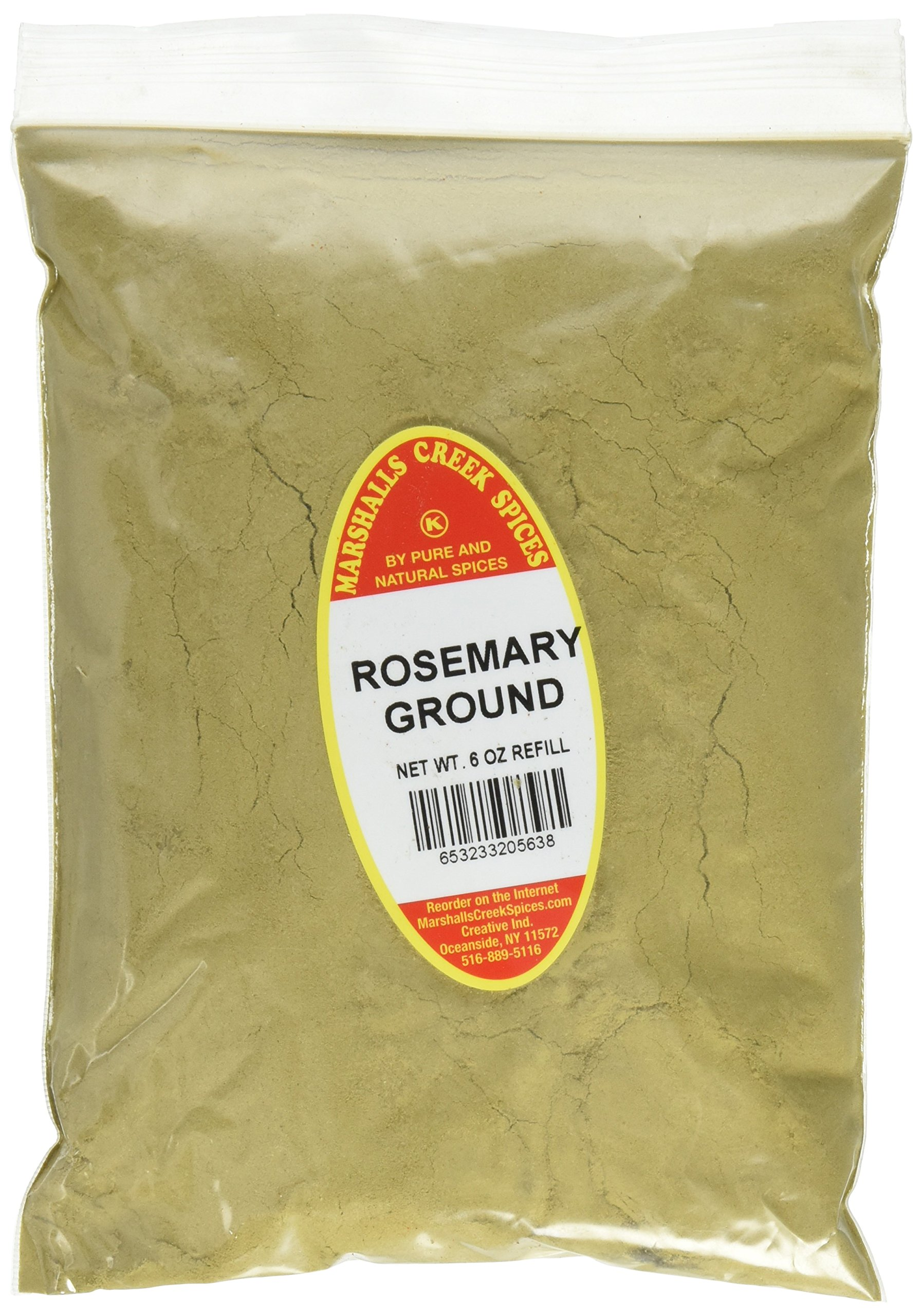 Marshalls Creek Spices Kosher Rosemary Ground Refill, 6 Ounce