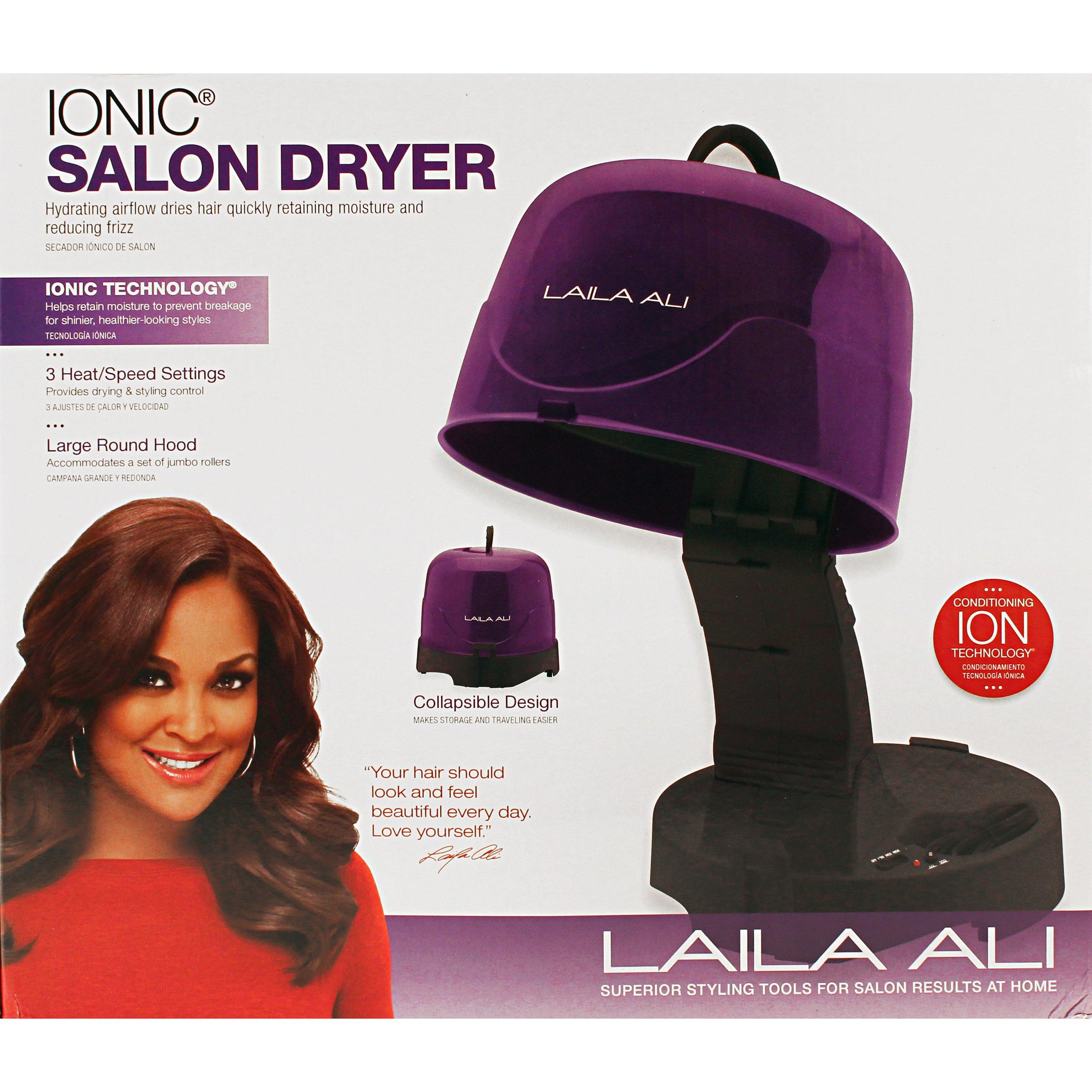 Laila Ali LADR5603 Salon Ionic Dryer, Purple and Black by Laila Ali (Image #3)