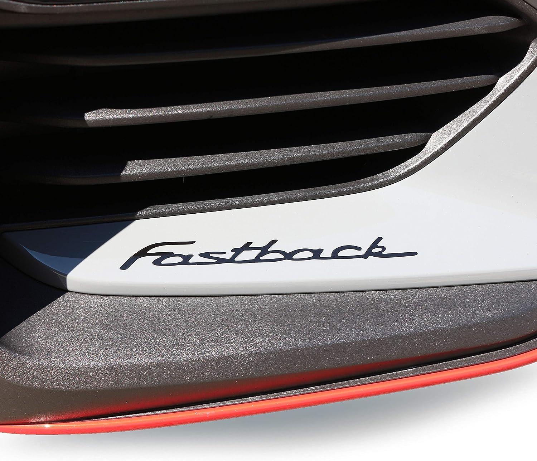 P071 Aufkleber 2er Set Fastback Schriftzug 20 Cm N Performance Dekor Sticker V1 Klein 20cm Schwarz Matt Auto