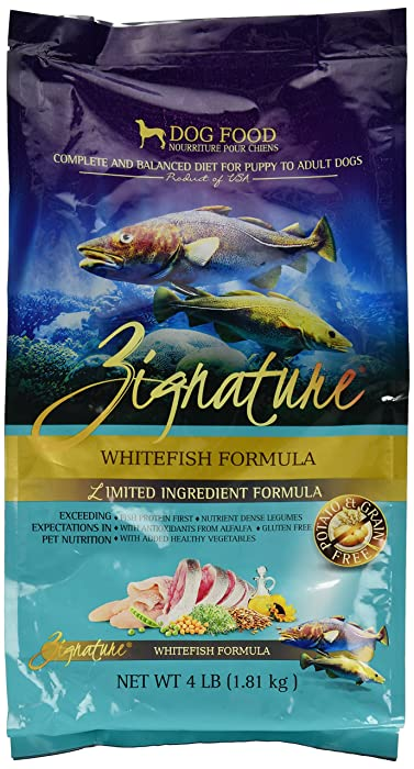Top 10 Zignature Zssential Formula Dog Food