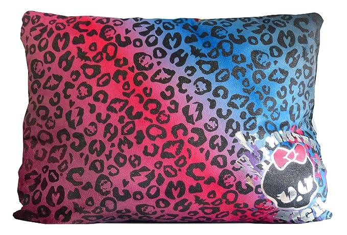 Amazon.com: Monster High Monster High Cheetah almohada, 20 x ...
